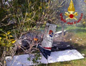 Aereo ultraleggero precipita, due morti vicino Siracusa