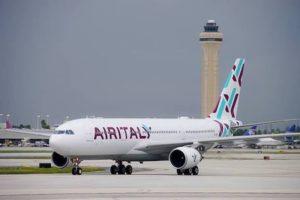 Air Italy, prenotazioni riaperte fino al 16 aprile per voli da Olbia a Milano e Roma