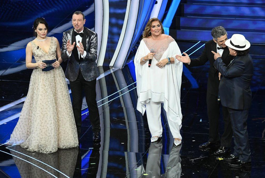 Al Bano e Romina Power a Sanremo 2020 (Ansa)3
