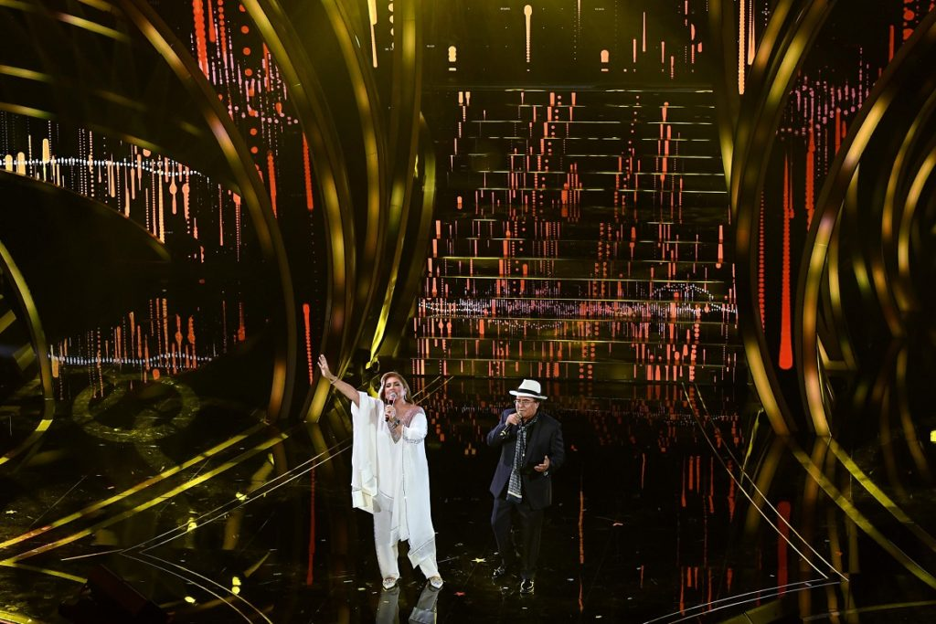 Al Bano e Romina Power a Sanremo 2020 (Ansa)2