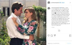 Beatrice di York sposa Edoardo Mapelli Mozzi il 29 maggio a Londra