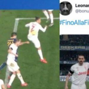 Juventus, Bonucci: la sua reazione su Instagram dopo aver causato il rigore