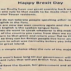 brexit day volantino