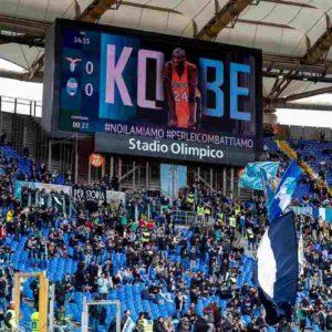 Kobe Bryant, Lazio e Lecce lo hanno ricordato così