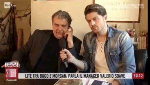 """Storie Italiane, il manager di Bugo: """"Non ho sabotato Morgan. Prima di Sanremo mi ha chiesto 55mila euro e..."""""""