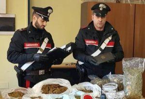 Catania: a 4 anni aiuta mamma e nonna a nascondere droga. Sequestrati 5 kg di marijuana e 3 di hashish