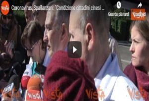 Coronavirus, cinesi ricoverati allo Spallanzani sono in condizioni stazionarie VIDEO