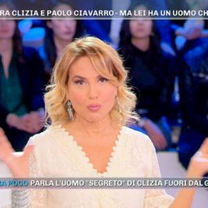 """Pomeriggio 5, Barbara d'Urso: """"Conosco l'ex di Clizia. Non è vero che la sta aspettando"""""""