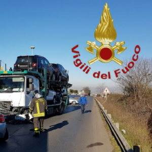 Colonna, incidente tra auto o bisarca: morte due persone