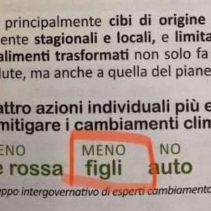 """Cremona, """"fai meno figli contro i cambiamenti climatici"""". E' il sindaco che te lo dice..."""