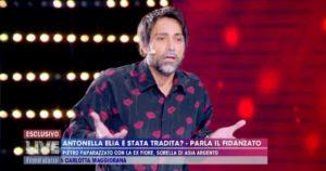 """Live Non è la d'Urso, Pietro Delle Piane smentito dalla macchina della verità. Lui sbotta: """"Non ho tradito Antonella Elia"""""""