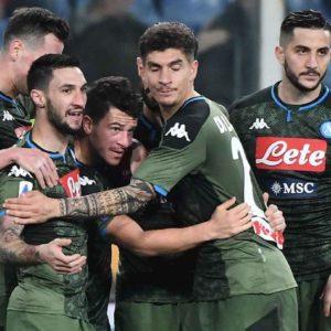 Napoli è tornato a volare con Gattuso, 4-2 alla Sampdoria con Europa League a portata di mano