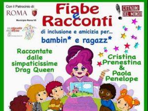 """Roma, drag queen a scuola per leggere le favole ai bimbi. Meloni: """"Solo a me sembra follia?"""""""