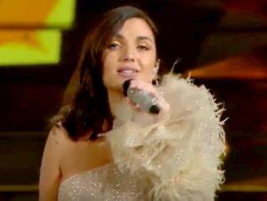 Sanremo 2020, Elettra Lamborghini canta Musica e basta