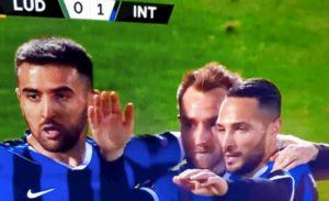 Europa League, Inter ok con il minimo sforzo: 1-0 al Ludogorets con il 1° gol di Eriksen