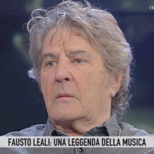 """Storie Italiane, Fausto Leali: """"Anna Oxa? Non la sento da tempo, ma non dipende da me"""""""