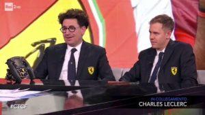 """Che Tempo Che Fa, Binotto (Ferrari): """"Vettel e Leclerc la migliore coppia della F1. A volte però..."""""""