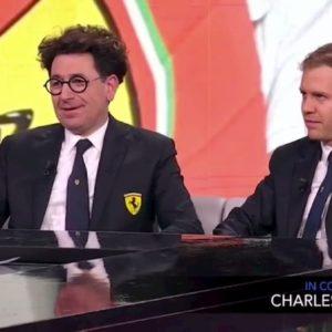 """Che Tempo Che Fa, Binotto (Ferrari): """"Vettel e Leclerc la migliore coppia della F1. Ogni tanto però..."""""""