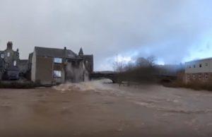 tempesta ciara hotel scozia fiume