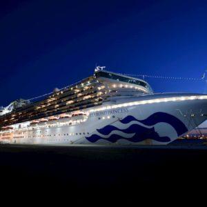 Coronavirus, anche 35 italiani a bordo della nave da crociera Diamond Princess al largo del Giappone