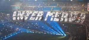 Inter-Milan, striscioni e coreografie del derby di Milano FOTO