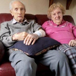 John (102 anni) e la moglie Joan di 97