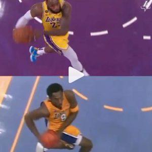 LeBron James omaggia Kobe Bryant, stessa schiacciata del Mamba 19 anni dopo VIDEO