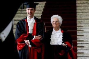 """Liliana Segre, dottorato honoris causa alla Sapienza. Lei cita Primo Levi: """"Capire è impossibile, conoscere è necessario"""""""