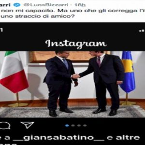 post luca bizzarri su di maio