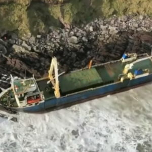Mercantile Mv Alta trovato in Irlanda: era scomparso con uragano Dennis