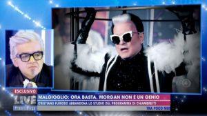 """Live Non è la d'Urso, Morgan contro Malgioglio: """"E' un poveraccio"""""""
