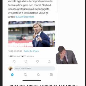 """Nedved, il figlio risponde a Piccinini su Instagram: """"Quando i giornalai fanno i giornalisti..."""""""