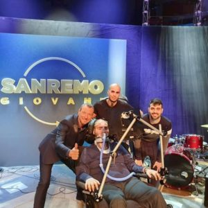 Paolo Palumbo, malato di Sla, a Sanremo 2020
