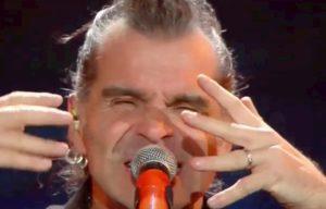 Sanremo 2020, Piero Pelù canta Gigante