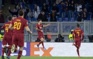 Europa League, Roma-Gent 1-0: Perez decide la partita con il 1° gol in giallorosso