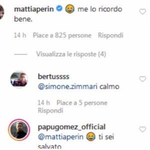 Papu Gomez-Perin, siparietto esilarante su Instagram FOTO