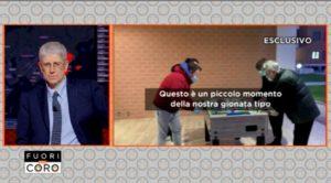 italiani quarantena cecchignola immagini