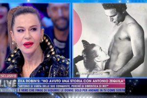 """Live Non è la d'Urso, Eva Robin's: """"Ho avuto un flirt con Antonio Zequila"""""""