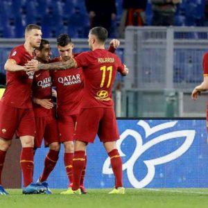 Roma-Lecce 4-0, show di Mkhitaryan e Dzeko: giallorossi a -3 dalla zona Champions