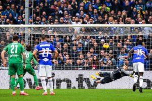 Coronavirus, Sampdoria rientrata da Milano: ha disputato un allenamento a Genova