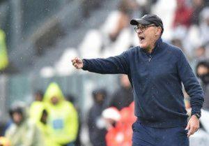 """Juventus, Sarri: """"Fischi anche se siamo primi? Sono abituati bene da queste parti..."""""""