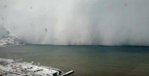 timelapse tempesta turchia