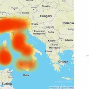 Tiscali down oggi 5 febbraio, problemi di connessione in tutta Italia