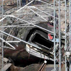 treno distrutto livraga lodi ansa