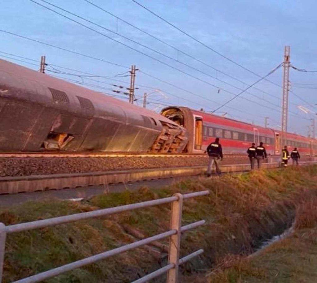 treno deragliato livraga lodi ansa