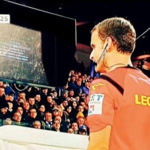 Spal-Juventus, rigore: monitor var non funziona, arbitro lo dà contro la Juve