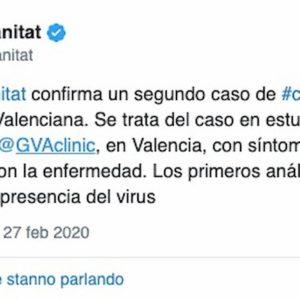 Valencia-Atalanta, giornalista positivo Coronavirus: ritorno a porte chiuse?