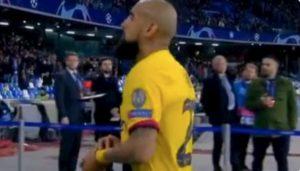 "Vidal sfida i tifosi del Napoli: ""Forza Juventus"""