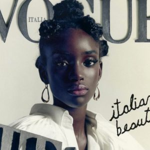 Daniele Beschin (Lega) critica Maty Fall Diba, modella italiana di colore, sulla copertina di Vogue. Espulso