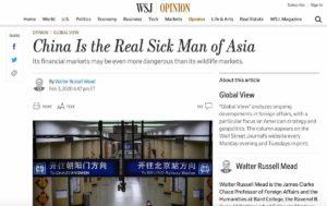 Coronavirus, la Cina revoca la tessera da giornalista a tre reporter del Wall Street Journal